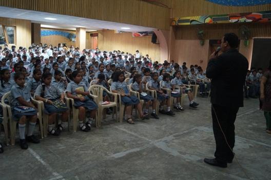 Interactive French Spell Bee Workshop at Rukmini Devi Public School; Pitampura
