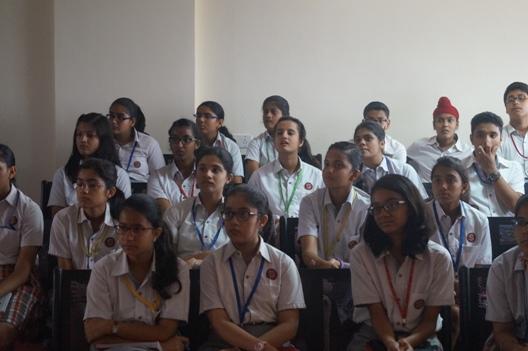 Haru's Interactive Fun Learning French Workshop storms Scottish High International School; Gurgaon
