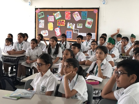 International French Spell Bee Workshop at DPS Group of Schools in Uttarakhand