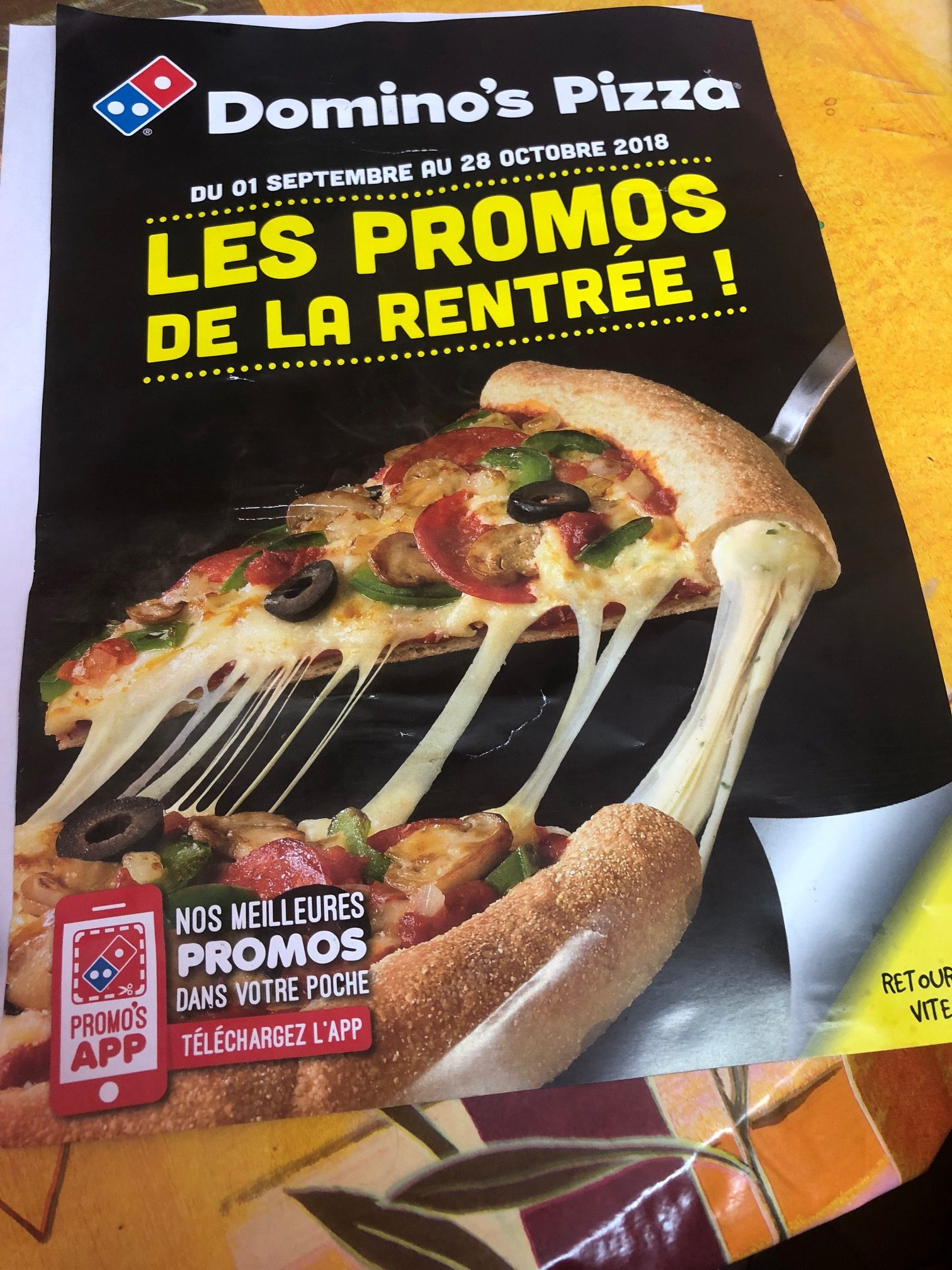 Wondering what's Rentrée & Pizza has in common ?