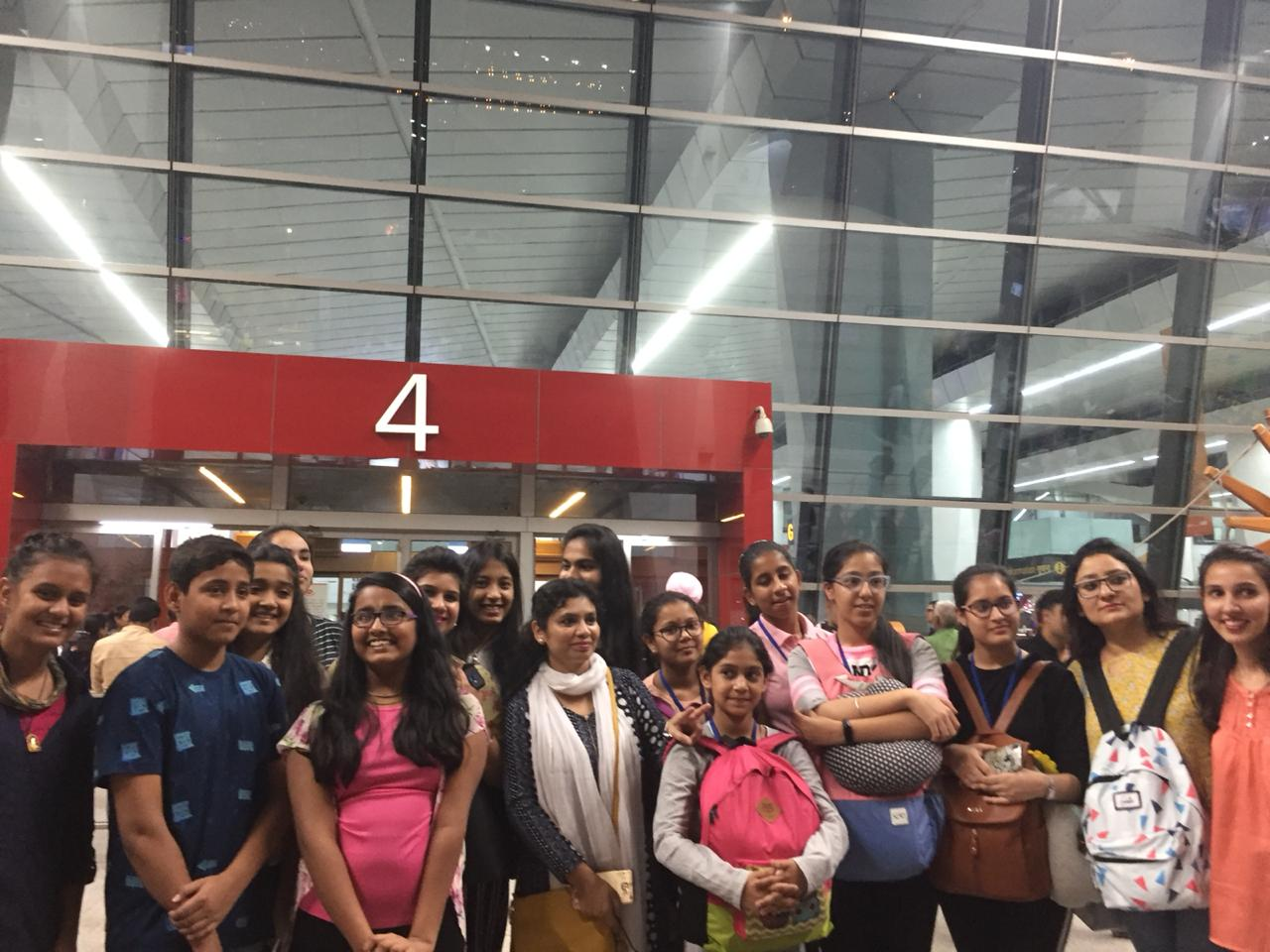 Nantes in France welcomes Indian School Group on 20th May 2019