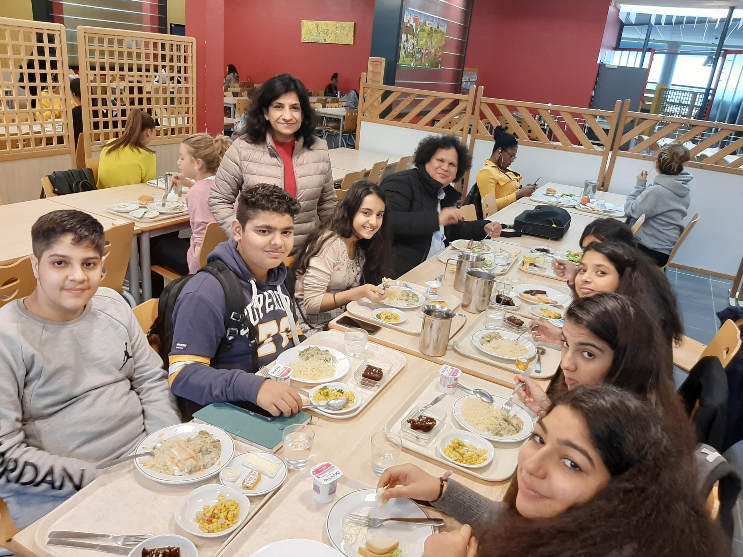 Indian Food On Our Scholastic Tours In Europe