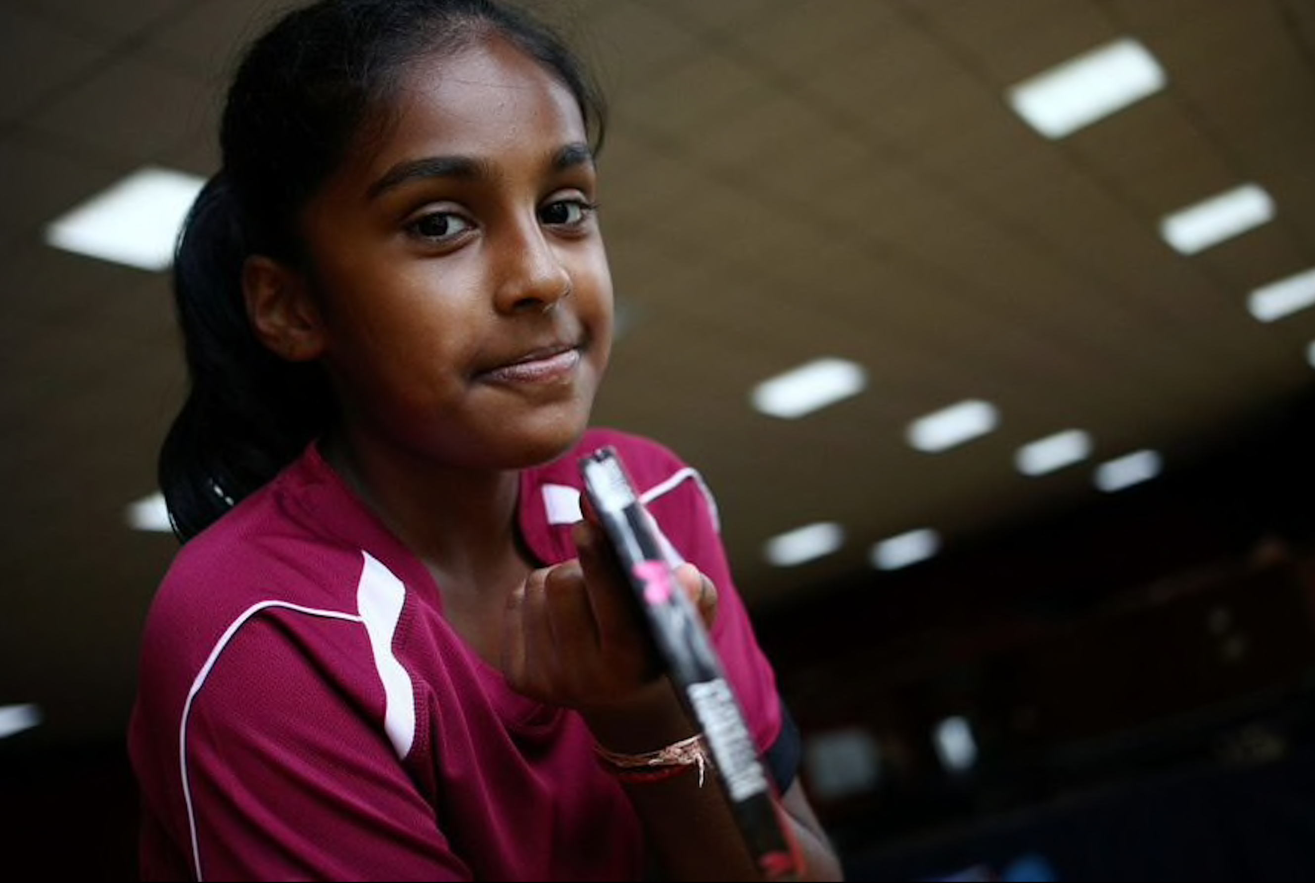 Prithika Pavade- An Indian origin girl qualifies for her first Olympic Games representing France.