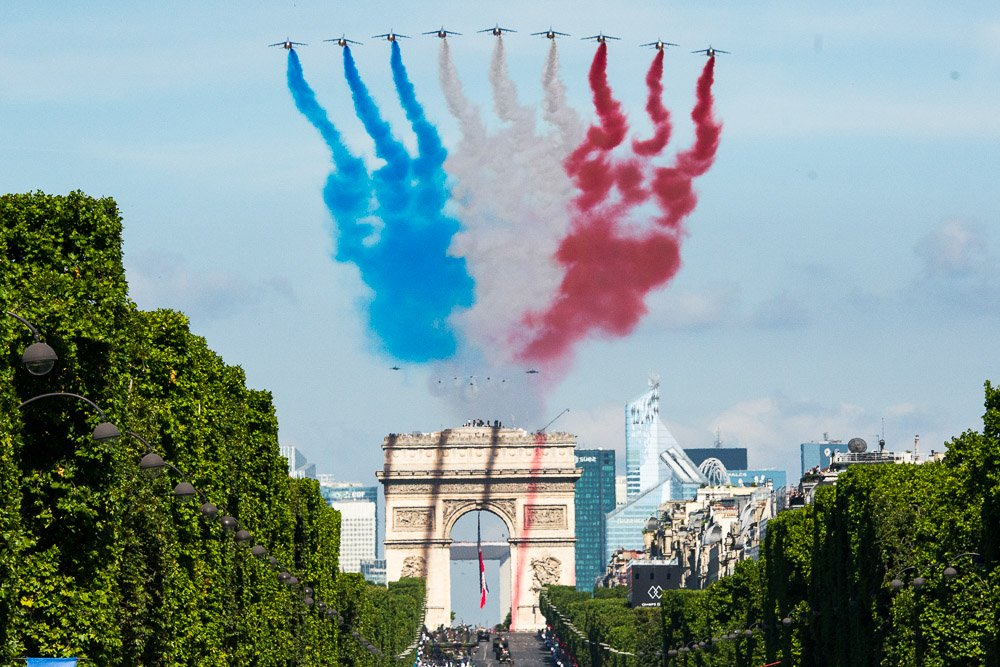 Live Virtual Tour of French National Day on 14th July 2021